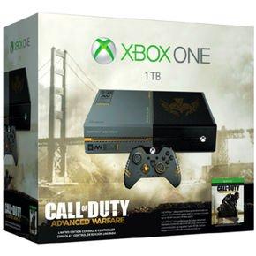 Xbox One 1TB + Call of Duty: Advanced Warfare Limited Edition für 339,99 € @Notebooksbilliger (Sarstedt, München oder Düsseldorf)