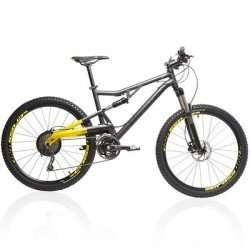 BTWIN Rockrider 700S 26 Zoll Mountainbike MTB Fully 120mm Größe M