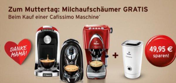 [Tchibo] Cafissimo TUTTOCAFFÈ + gratis Milchaufschäumer für 89,10 EUR