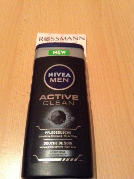 [Rossmann] Nivea Active Clean Duschgel [Angebot + Coupon = 0,75 €]