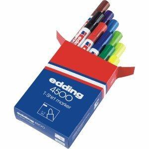 """Edding Textilmarker """"edding 4500"""" 10 Farben für nur 5,98 €, Strichbreite 2-3mm @Amazon"""