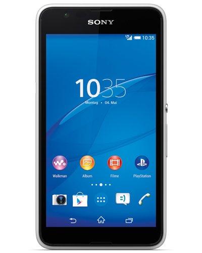 [Handyschotte] Sony Xperia E4G LTE (4,7'' qHD IPS, 1,5 GHz Quadcore, 1GB RAM, NFC) in weiß für 126,85€