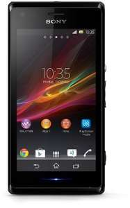 (Amazon UK WHD) Sony Xperia M (sehr gut) Einsteiger-Smartphone? für 72,07 EUR (Amazon WHD DE: 97,26 EUR)