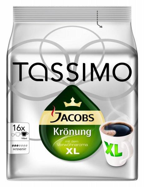 [Amazon] Tassimo Jacobs Krönung XL, 5er Pack (5 x 16 Portionen) -> Sparabo günstiger