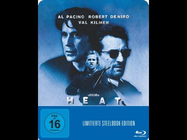 """[Saturn & MediaMarkt] """"Heat"""" mit Al Pacino & Robert De Niro als Steelbook (Bluray) für 9,99€"""