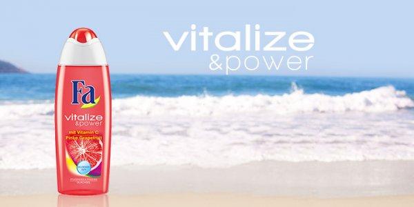 ROSSMANN FA Vitalize-Power-Pinke-Grapefruit DUSCHGEL für 50 Cent!
