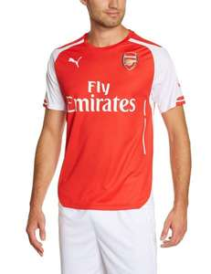Amazon: FC Arsenal Home Trikot Herren Größe L, XL, XXL 2014/2015