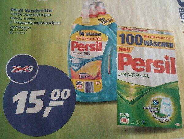 [Real Kirchentellinsfurt] Persil 100 Waschladungen