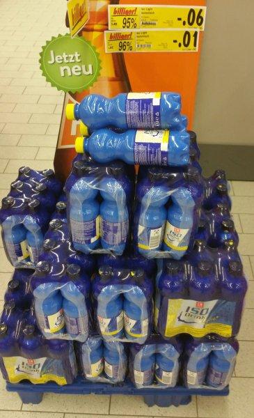 Kaufland Dresden Iso Light isotonsiches Getränk 0.5l für 1Cent = 95% Rabatt