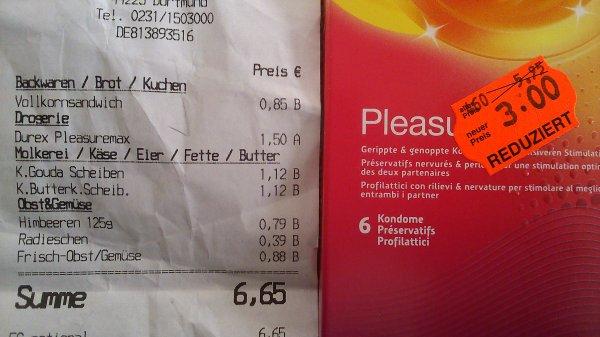 [Lokal?] Kaufland Dortmund Hombruch: Durex Plesuremax 6 Stk.