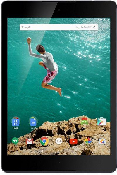(amazon.de) HTC Nexus 9 (8,9 Zoll) Tablet (WiFi, 16GB interner Speicher, Android 5.0) schwarz