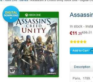 XBox One Download Spiel: Assassin's Creed Unity (cdkey.com)