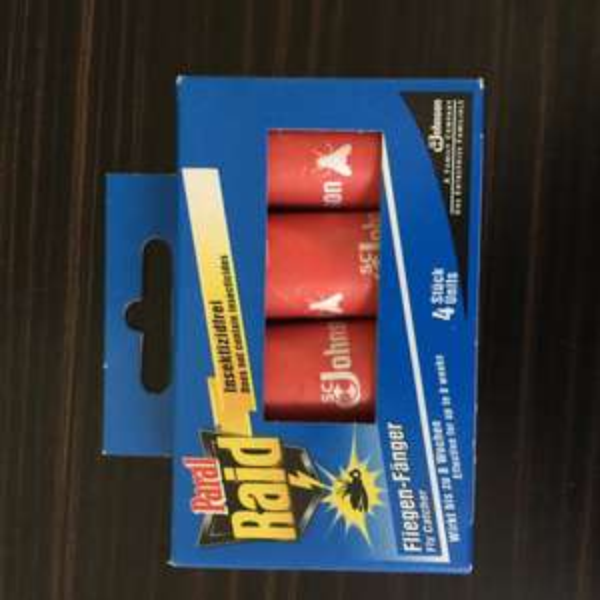 [MÜLLER bundesweot] RAID  Fliegen-Fänger 4er Pack 0,45/0,30 mit coupon