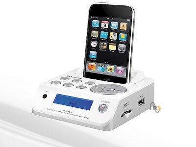 iPod Docking-Station mit Fernbedienung für nur 7,99 Euro zzgl. 4,50 Euro Versand.