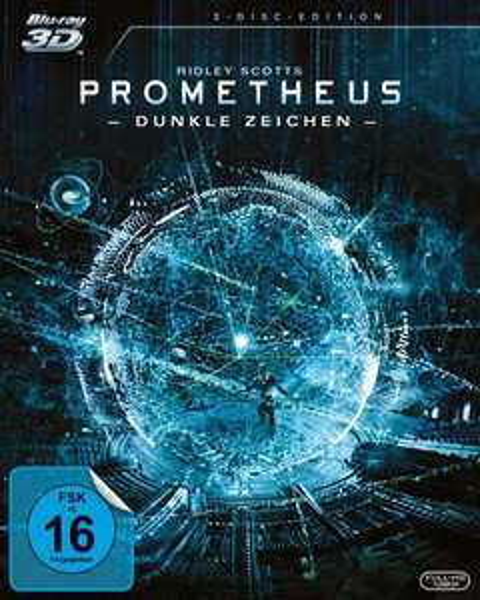 Prometheus - Dunkle Zeichen (3D Blu-ray + Blu-ray + DVD) für 15,99€ @Cede