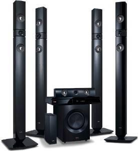 [Amazon] LG BH7530TWB 3D Blu-Ray 5.1 Heimkinosystem mit Wireless Lautsprecher 299,99€