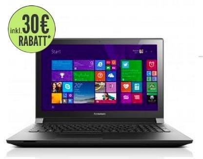 Für nur 219 Euro LENOVO B50-30 Laptop 30 Euro Ersparnis