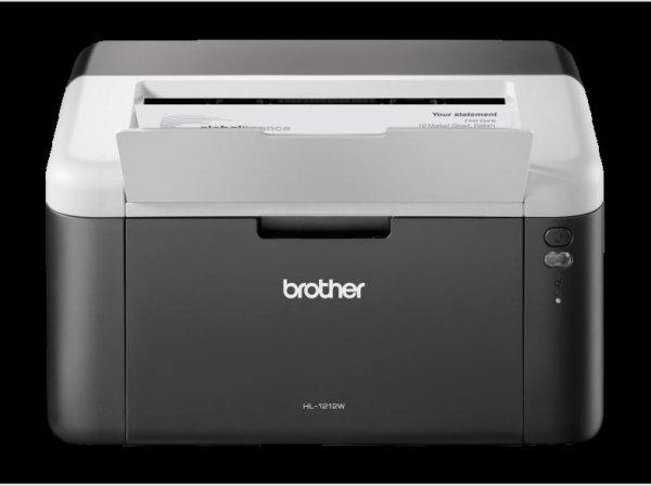 Brother HL-1212W Laserdrucker s/w (A4, Drucker, USB, 20 Seiten/min, WLAN für 74,98€ @ Media Markt