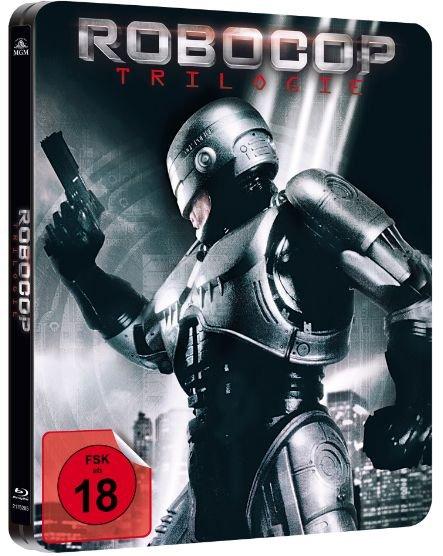Blu-ray Box - Robocop 1-3 (Steelbook Edition/ 3 Discs) ab €11,84 [@Saturn.de]