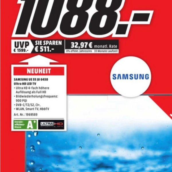 [Lokal] MM MÜLHEIM a.d. Ruhr - Neueröffnungsangebot - Samsung 55JU6450 4k für 1088€!