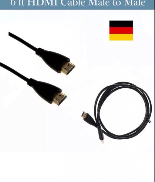 [ebay] 2 Stück - 1,8m HDMI Kabel v1.3. Kostenloser Versand aus Deutschland. Nur 1 Tag!
