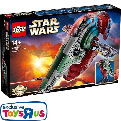 [toys´r´us on & off] 20% auf alle Lego Star Wars Artikel ab 20€ - z.B. Slave I 75060 für 160€ statt 176€ im Angebot