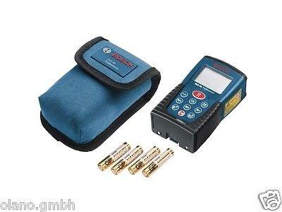 [eBay.de] Bosch DLE 40 Laser-Entfernungsmesser blau Flächenmessung Volumenmessung inkl. Tasche und Batterien