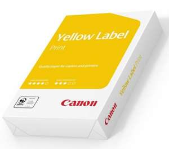 [Vor Ort in Euronics XXL Filialen]: Canon Yellow Label Kopierpapier 500Blatt, 80gr/m2 für 1,99€