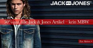 30% auf alle Jack & Jones Artikel bei Jeans Direct - VSK ab 3,90€