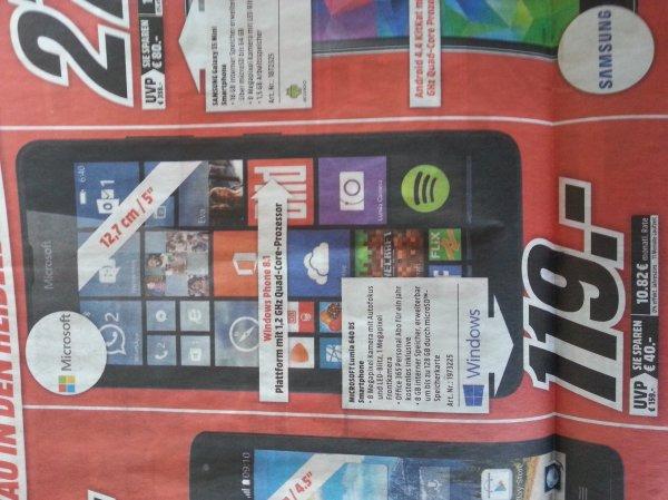Lokal MM Heidelberg Lumia 640DS  119€