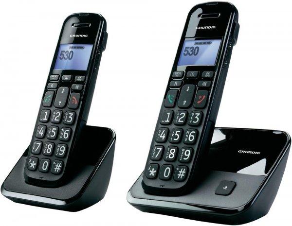 [digitalo] Grundig Schnurloses Seniorentelefon D530 Duo für 43,79 EUR (+ gratis Saftpresse im Wert von 9,95 EUR)