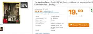 The Walking Dead - Staffel 3 Exkl. Steelbook Uncut mit magnetischer 3D Lentikularkarte) - (Blu-ray) @ Saturn
