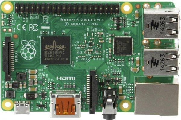 Raspberry Pi® 2 Model B 1 GB für 34,70€ @Digitalo.de