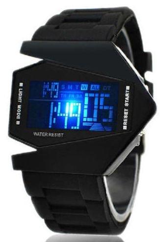 (e-bay) Stylische LED Armbanduhr aus Polen (EU) >>> für einen Euro incl. VSK oder Preisvorschlag !!!