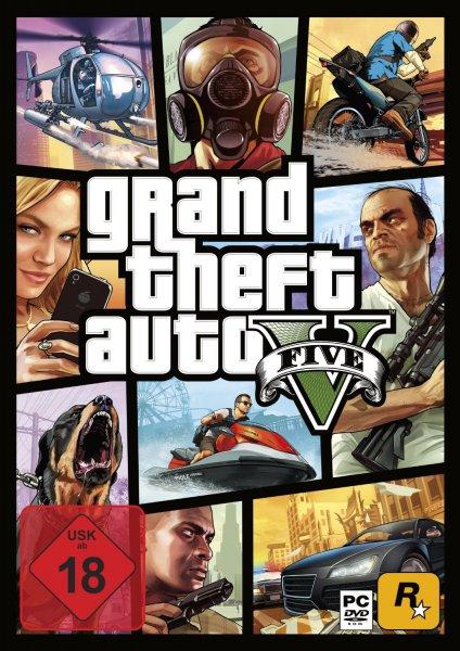 [Amazon] Grand Theft Auto V (Box - 7 DVD´s)