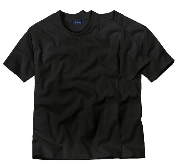 CECEBA Herren T-Shirt 6er-Packung -50% Rabatt = 4,49€/Shirt Versandkostenfrei Gesamt = 26,99 € (3*Doppelpackung)