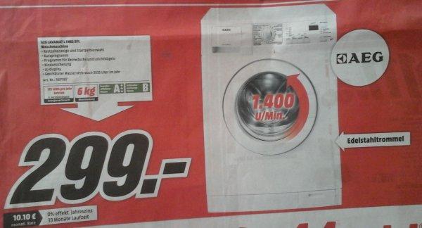 [local@MM Dietzenbach] AEG Electrolux Lavamat 5462DFL Waschmaschine A+++ für 299 €