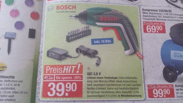 V-Markt München: Bosch IXO V für 39,90€
