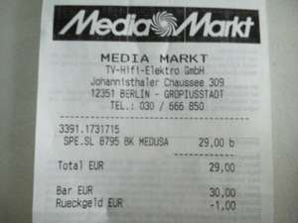 [Lokal MM Berlin-Gropiusstadt] Speedlink Medusa NX 5.1 Kopfhörer mit Mikrofon und Kabelfernbedienung