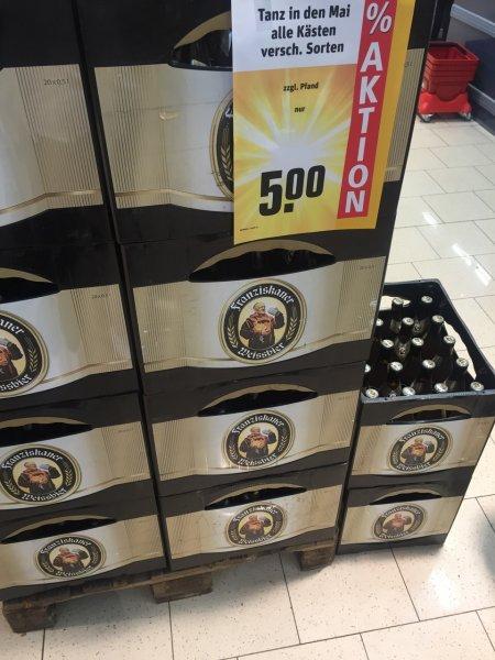 Lokal - Rewe Erlangen div. Bierkästen für 5€