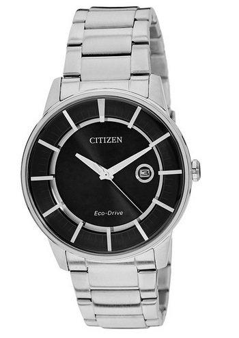 Citizen Herren-Armbanduhr XL Analog Quarz Edelstahl AW1260-50E