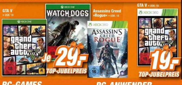 [Offline Expert-Technikmarkt] GTA 5 - Grand Theft Auto V - Xbox One für 29,- EUR oder  Xbox 360 für 19,-€