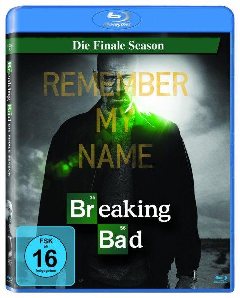 (Amazon) Blu Ray Breaking Bad - die finale Season 15,99€  (für Prime Kunden 12,99€)