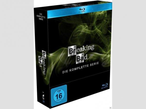 (Saturn Online) 72 EUR  Breaking Bad - Die komplette Serie - (Blu-ray) bei Abholung im Markt mit 5 Euro Newsletter Gutschein