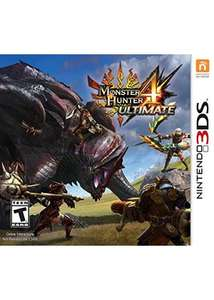 Monster Hunter 4 Ultimate 3DS für 28,70€ @base.com