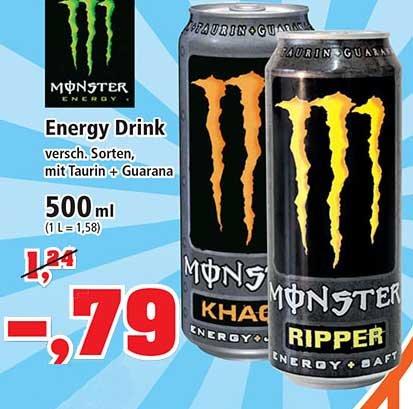 Monster Energy Drink zum Sonderpreis bei [ Thomas Philipps Bundesweit ]