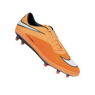Nike Fußballschuh Hypervenom Phatal FG orange/weiß