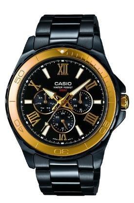 [Amazon.co.uk] Casio MTD-1075BK-1A9VEF Herren Edelstahluhr für ~ 46,24€ incl.Versand nach Deutschland!