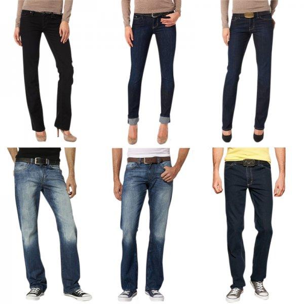 Mustang Jeans für Herren und Damen, ver. Waschungen, Größen und Modelle