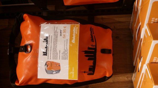 Ortlieb Back Roller Classic Globetrotter Orange Line lokal Frankfurt 64,95€